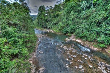 river Talamanca mountains Costa Rica Central America