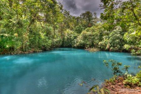 blue river Rio Celeste Costa Rica Central America