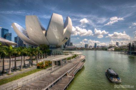 ArtScience Museum Marina Bay Singapore Asia