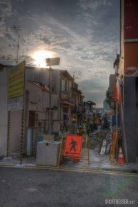 building site Singapore Asia