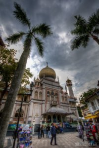 Masjid Sultan Mosque in Muscat Street Singapore Asia