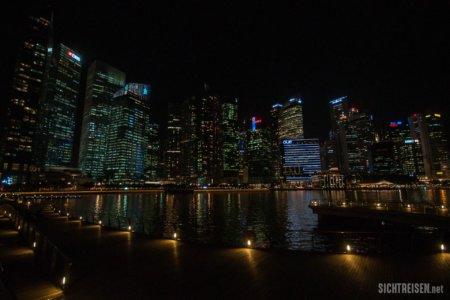 Marina Bay night Singapore Asia