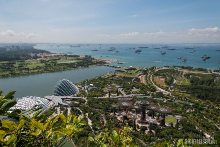 Marina Bay Sands Gardens by the Bay Singapore Asia