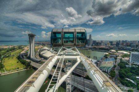 Singapore Flyer ferris wheel Singapore Asia