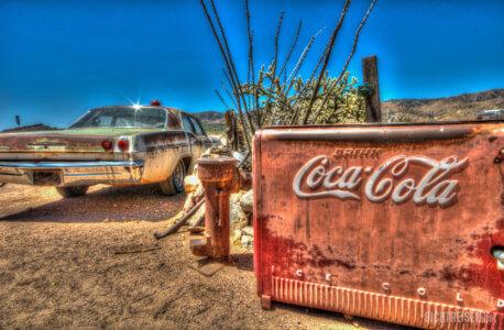 Route 66 Arizona Oldtimer Coca Cola